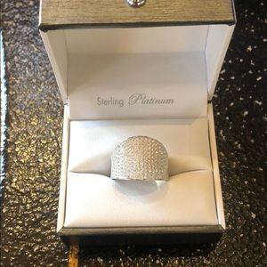 Pave Diamond Ring